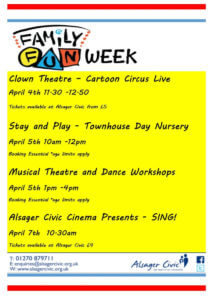 Alsager Civic Family Fun Week  - Alsager Civic
